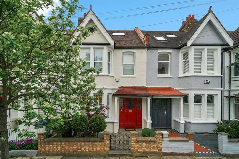 4 Bedrooms Terraced House for sale in Greenend Road, Chiswick, London, UK, W4