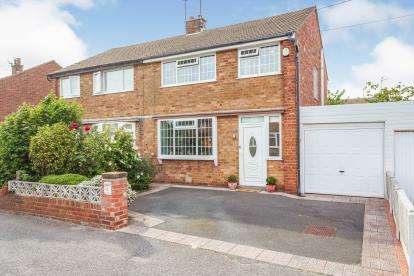 3 Bedrooms Semi Detached House for sale in Ledbury Road, Blackpool, Lancashire, ., FY3