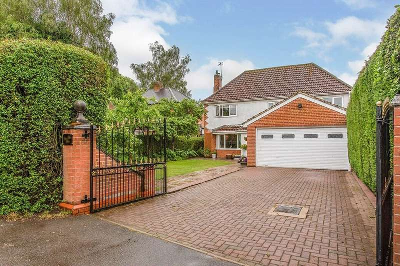 4 Bedrooms Detached House for sale in Loughborough Road, Thringstone, Coalville, LE67