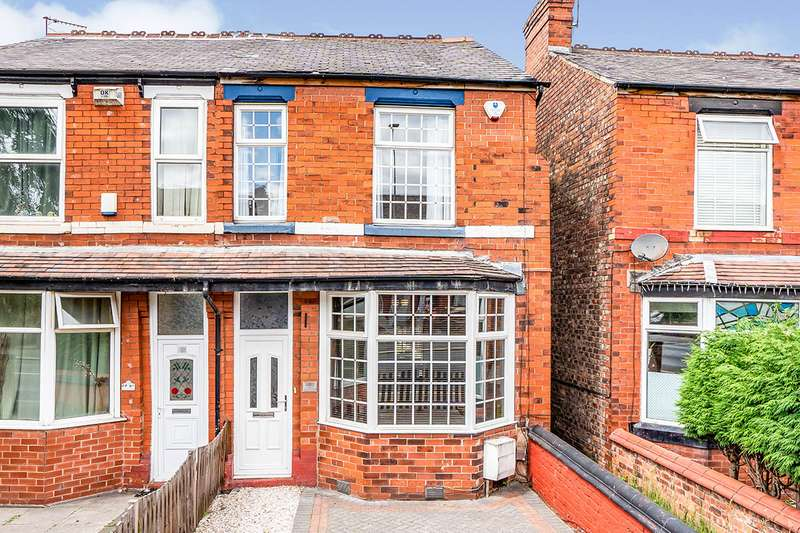 3 Bedrooms Semi Detached House for sale in Worsley Road, Eccles, M30