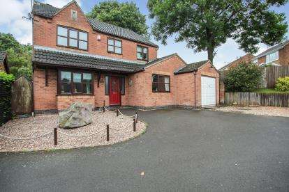 4 Bedrooms Detached House for sale in The Finches, Desford, Leicester, Leicestershire