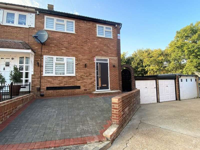 3 Bedrooms End Of Terrace House for sale in Greenbank Close, Romford