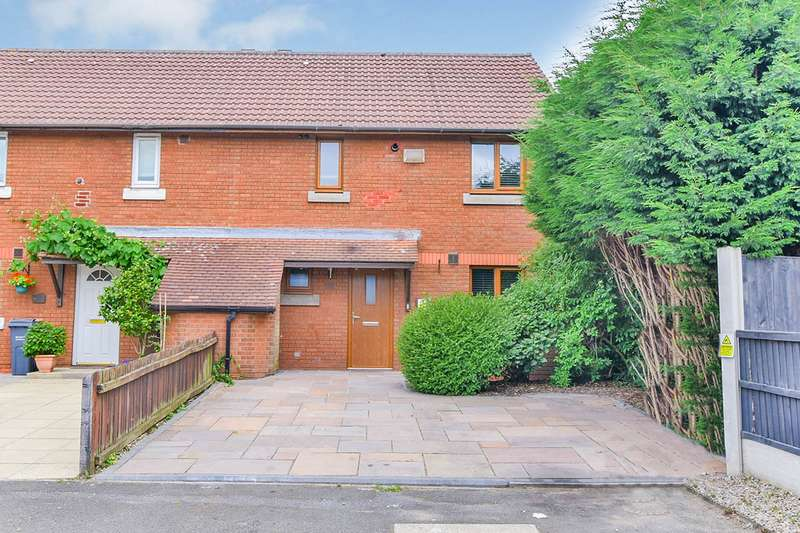 3 Bedrooms End Of Terrace House for sale in Cutgate Close, Manchester, Greater Manchester, M23