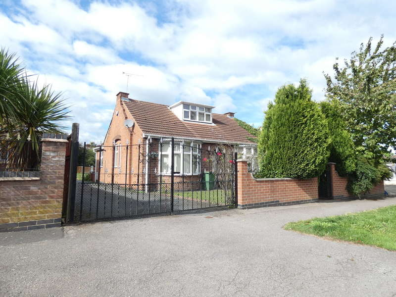 3 Bedrooms Detached Bungalow for rent in Tournament Road, Glenfield, Leicester