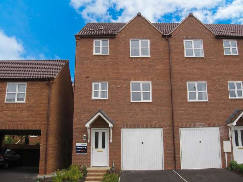 4 Bedrooms Town House for sale in Stonebow Close, Loughborough, LE11 5EU