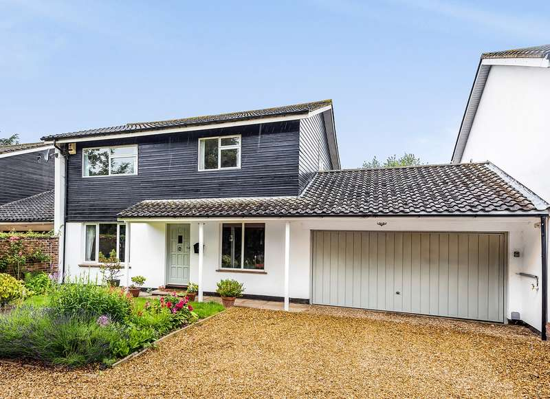 4 Bedrooms Link Detached House for sale in New Inn Road, Hinxworth, SG7