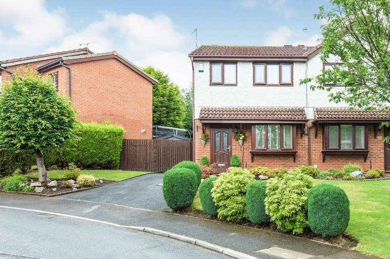 2 Bedrooms Semi Detached House for sale in Forest Drive, Skelmersdale, WN8