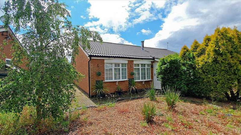 1 Bedroom Bungalow for sale in Beacon Close, Markfield