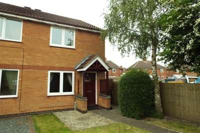 2 Bedrooms Semi Detached House for rent in Gamble Close, Ibstock, LE67 6AB