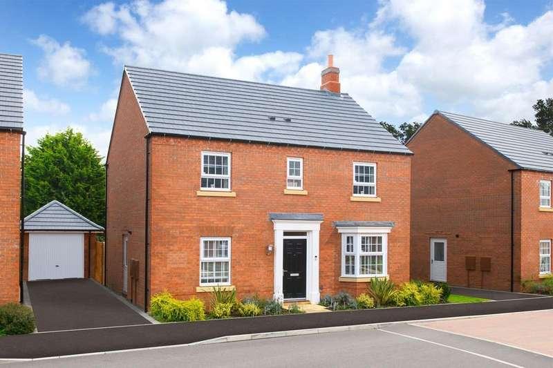 4 Bedrooms House for sale in Bradgate, Burnmill Grange, Burnmill Road, Market Harborough, MARKET HARBOROUGH, LE16 7XB