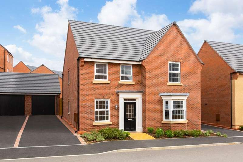 4 Bedrooms House for sale in Holden, Grange View, Grange Road, Hugglescote, COALVILLE, LE67 2BS
