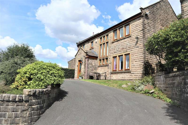4 Bedrooms Detached House for sale in Top O Th Hill Road, Walsden, Todmorden. OL14 6QA