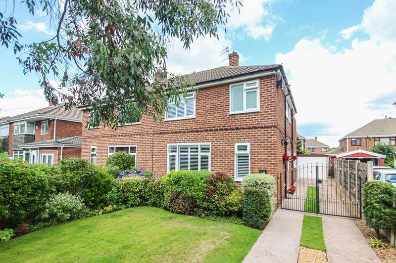 3 Bedrooms Semi Detached House for sale in Moss Lane, Partington, Manchester, M31