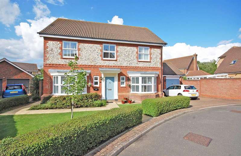 4 Bedrooms Detached House for sale in Harnham Drive, Great Notley, Braintree