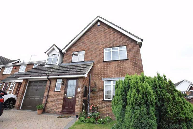 4 Bedrooms Detached House for sale in Kingsdown Close, Basildon, Essex