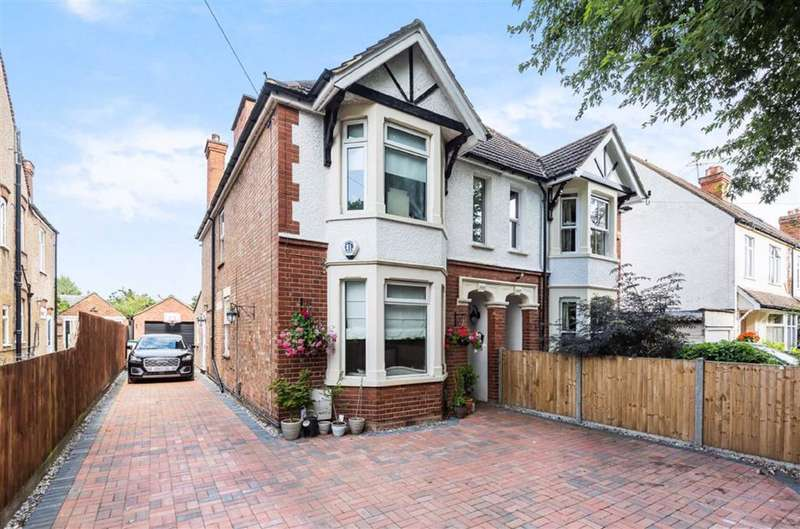 4 Bedrooms Semi Detached House for sale in Kimbolton Road, Bedford