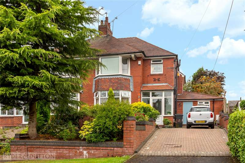3 Bedrooms Semi Detached House for sale in Tandle Hill Road, Royton, Oldham, Greater Manchester, OL2