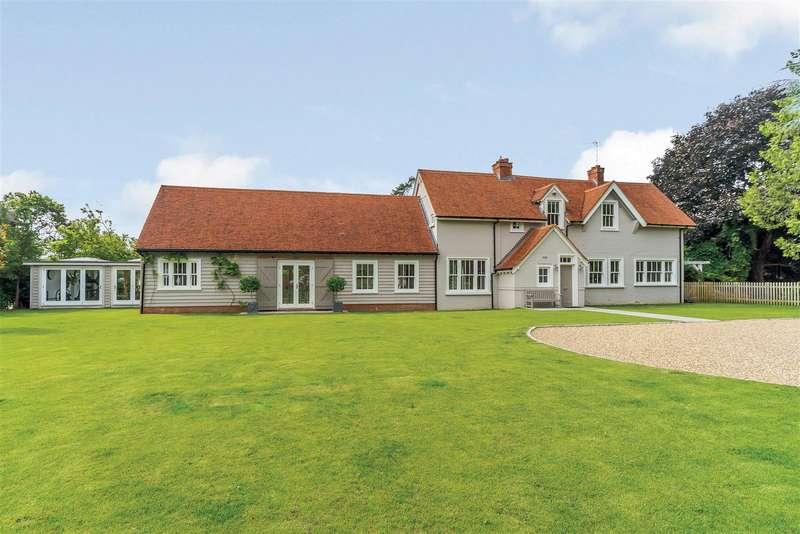4 Bedrooms Detached House for sale in Saffrons, Station Road, Henley-On-Thames, Oxfordshire, RG9 3JP