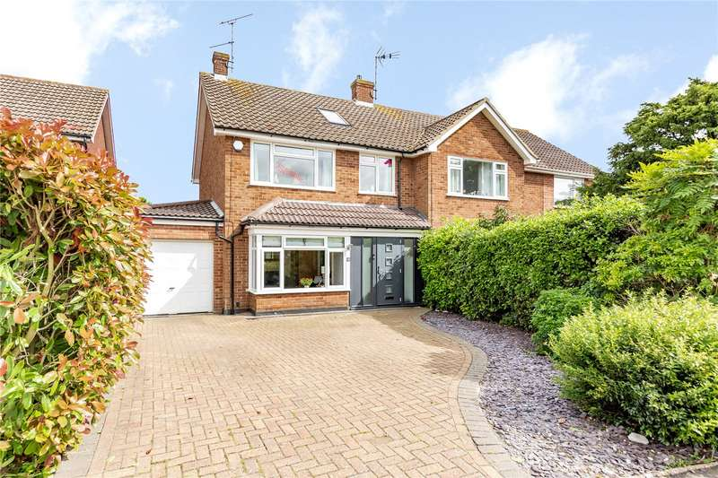 4 Bedrooms Semi Detached House for sale in The Ryle, Writtle, Chelmsford, CM1