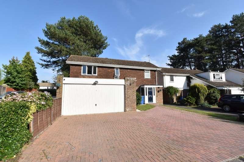 4 Bedrooms Detached House for sale in Spinis, Bracknell, Berkshire, RG12