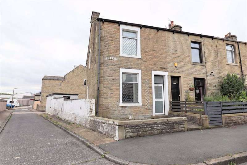 2 Bedrooms End Of Terrace House for sale in Lower Park Street, Barnoldswick, Lancashire, BB18