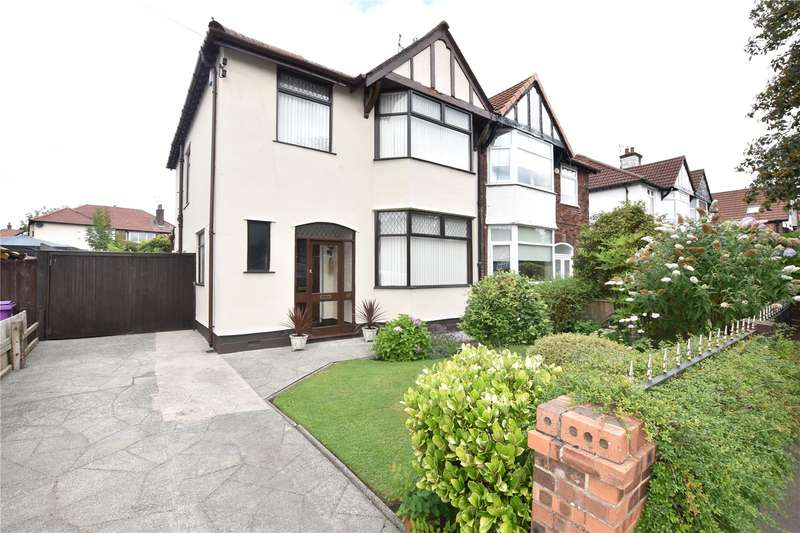 3 Bedrooms Semi Detached House for sale in Holmefield Road, Allerton, Liverpool, L19