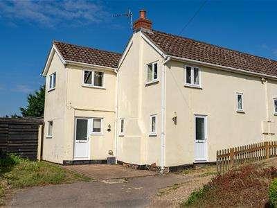 3 Bedrooms Cottage House for sale in D'arcy Cottages, Rockalls Road, Polstead