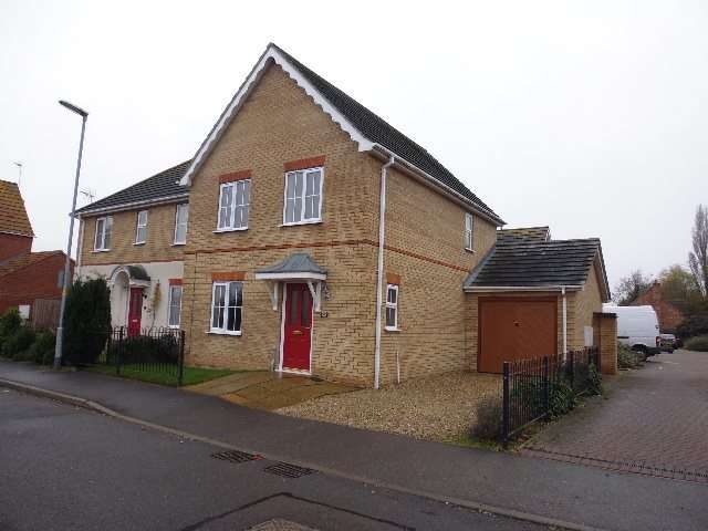 3 Bedrooms Semi Detached House for rent in Thomas Middlecott Drive
