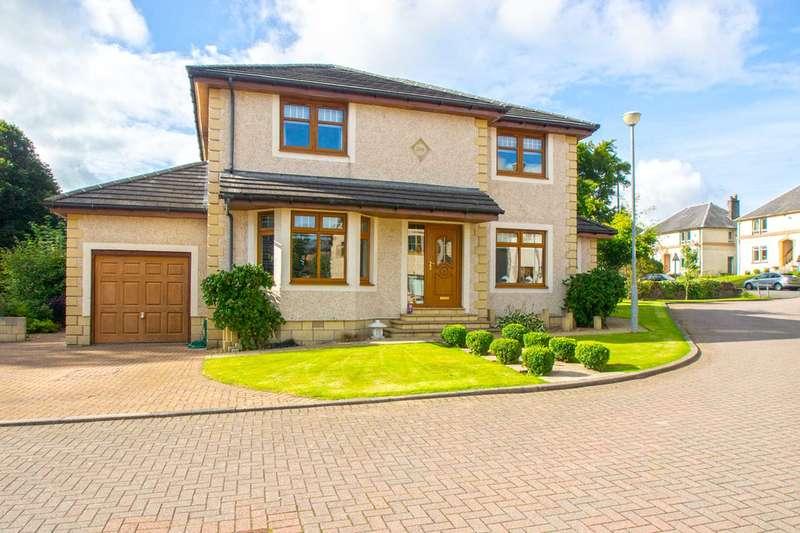 4 Bedrooms Detached House for sale in Burnbridge Wynd, Stewarton