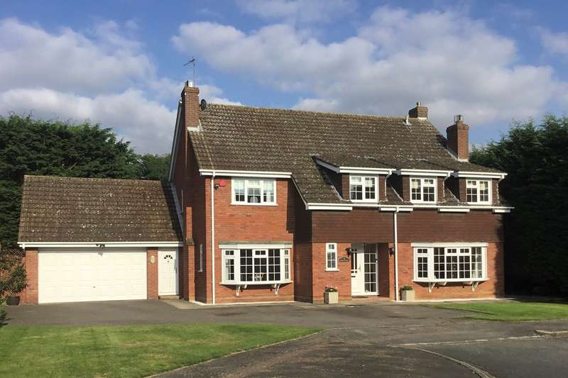 4 Bedrooms Detached House for sale in Oak Close, Westoning, MK45
