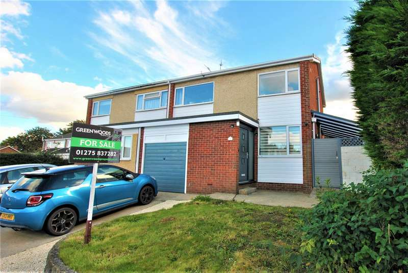 3 Bedrooms Semi Detached House for sale in Stockton Close, Whitchurch, Bristol