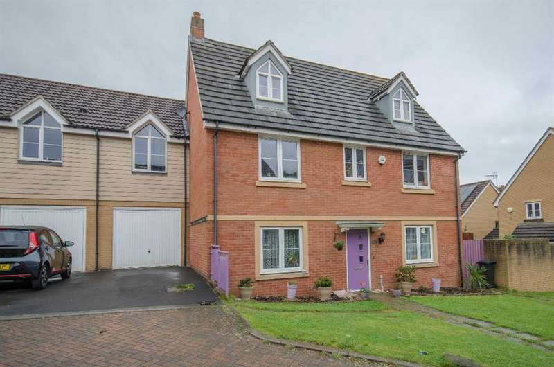 5 Bedrooms Link Detached House for sale in Arnold Road, Mangotsfield, Bristol, BS16 9LZ