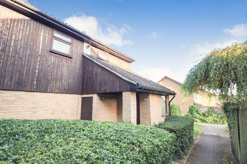 2 Bedrooms Maisonette Flat for sale in Fleetham Gardens, Lower Earley, Reading, RG6