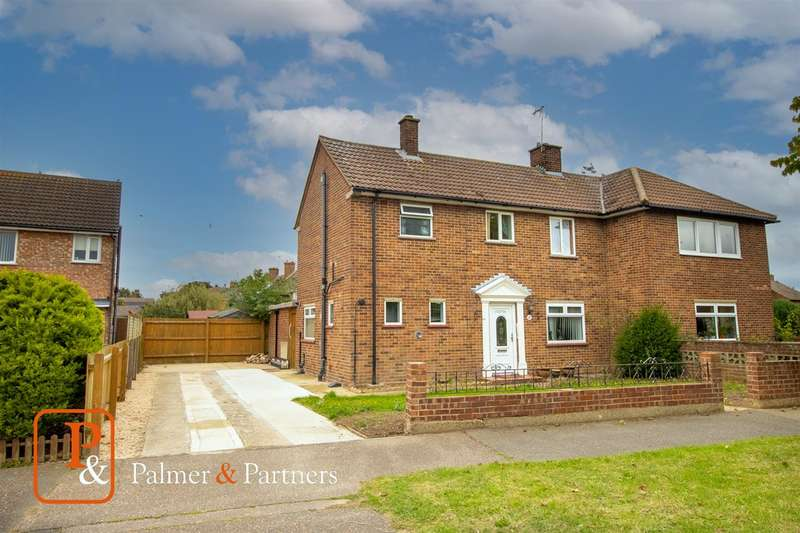 3 Bedrooms Semi Detached House for sale in Willett Road, Colchester CO2