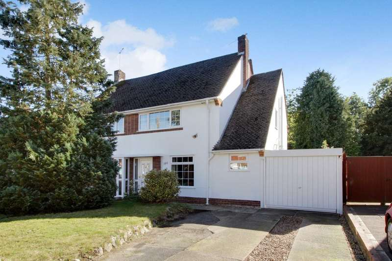 3 Bedrooms Semi Detached House for sale in Silverdale Road, Earley