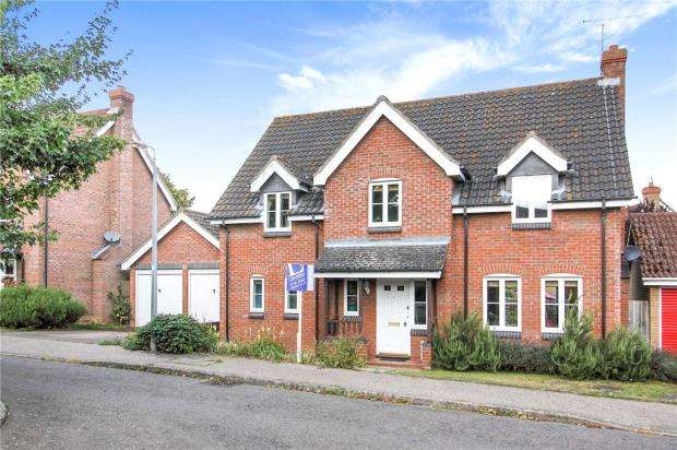 4 Bedrooms Detached House for sale in Whitlock Drive, Great Yeldham, Halstead