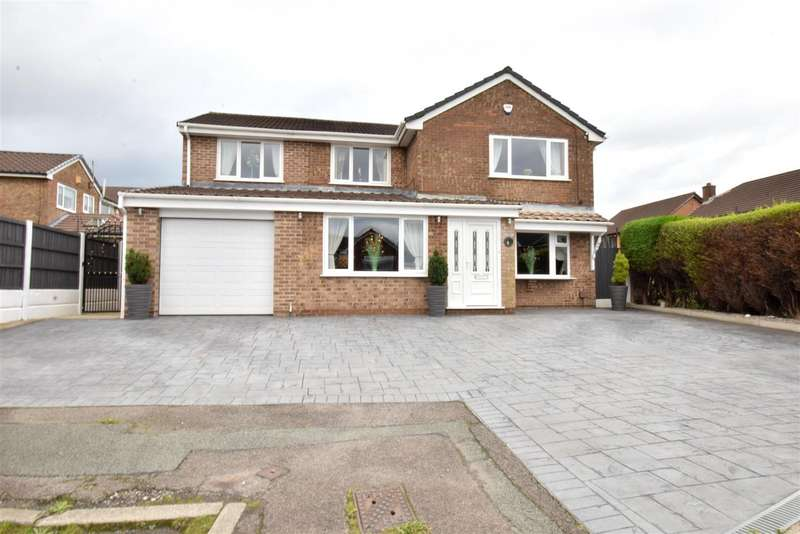 5 Bedrooms Detached House for sale in Daisy Hall Drive, Westhoughton, Bolton
