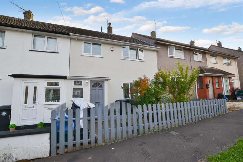 3 Bedrooms Terraced House for sale in Geoffrey Close, Bristol, BS13 8BW