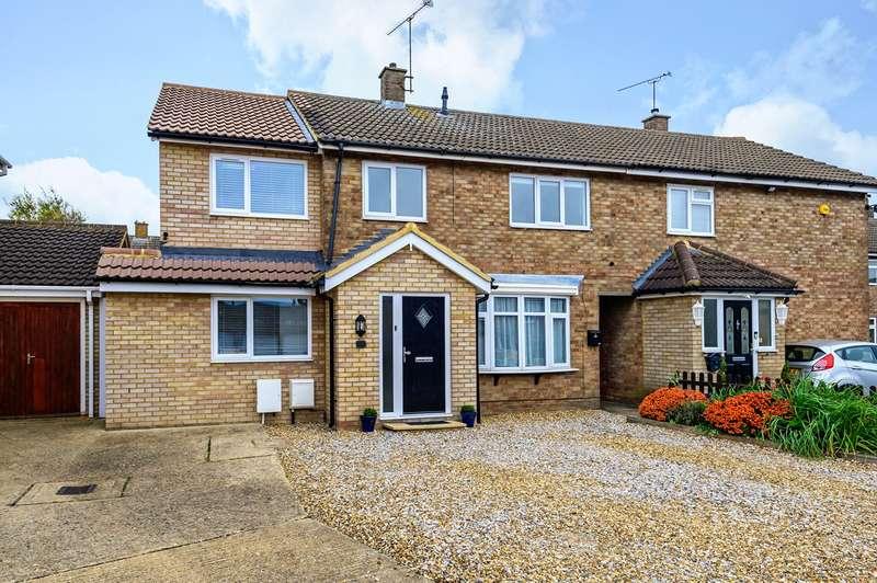 4 Bedrooms Semi Detached House for sale in Hillborough Crescent, Houghton Regis, LU5