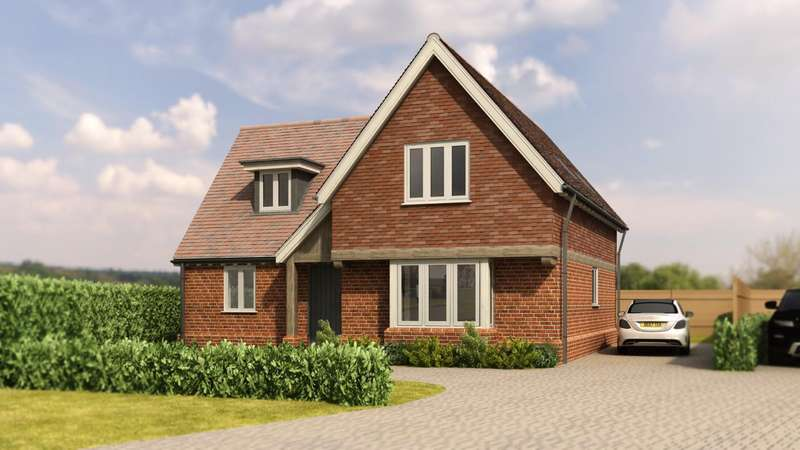 3 Bedrooms Detached House for sale in Bannister Green, Felsted, Dunmow