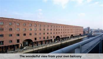 3 Bedrooms Flat for rent in Royal Quay, Liverpool