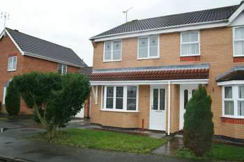 3 Bedrooms Semi Detached House for sale in Merlin Close, Leicester