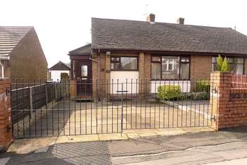2 Bedrooms Semi Detached Bungalow for sale in Church Road, Smithills, Bolton