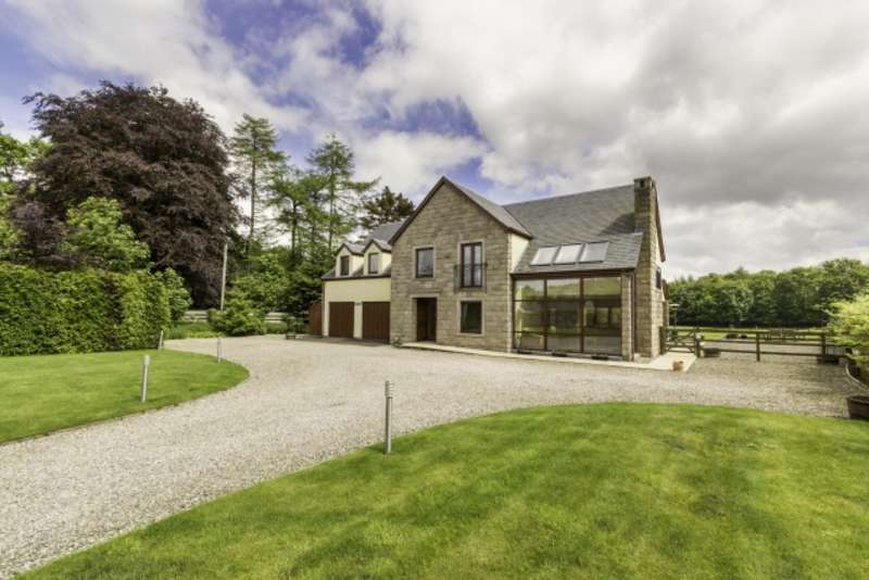 5 Bedrooms Detached Villa House for sale in Duncrievie, Glenfarg, Perth, Perthshire, PH2 9PD