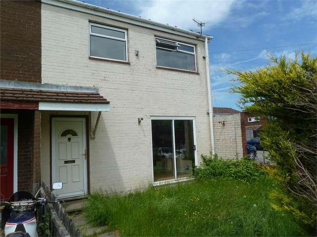 3 Bedrooms Semi Detached House for sale in Roundhouse Close, Nantyglo, Ebbw Vale, Blaenau Gwent