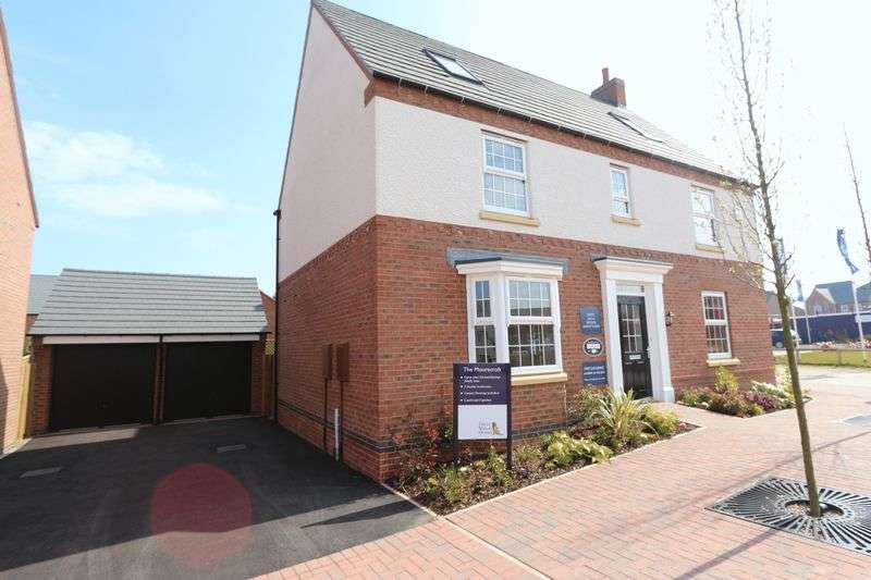 5 Bedrooms Detached House for sale in Plot 211, The Moorecroft, Glenfield Park, Kirby Road, Glenfield