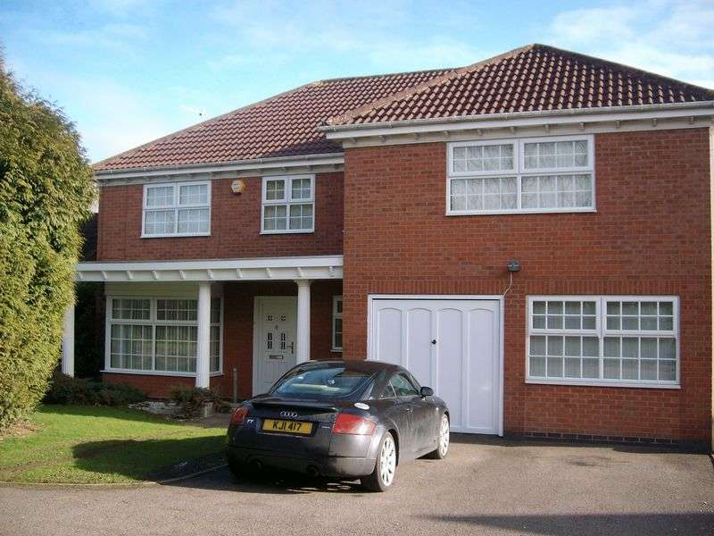 5 Bedrooms Detached House for sale in Mill Race View, Atherstone
