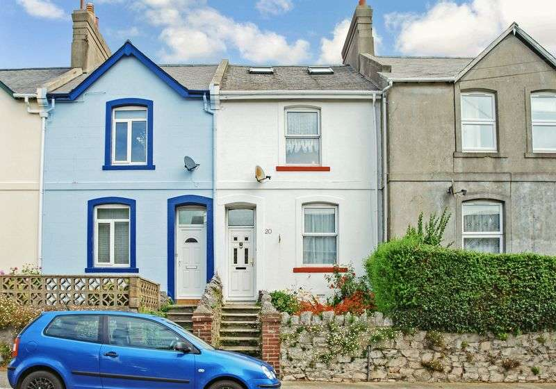 2 Bedrooms Terraced House for sale in Woodville Road, Torquay