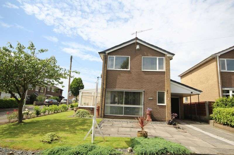 3 Bedrooms Detached House for sale in STONEHILL DRIVE, Rooley Moor, Rochdale OL12 7JN