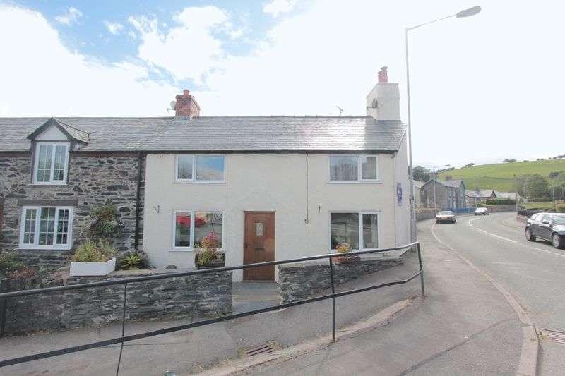2 Bedrooms Semi Detached House for sale in Ffordd Gogor, Llansannan